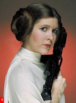 Carrie Fisher- Princess Leia - Wishful Drinking
