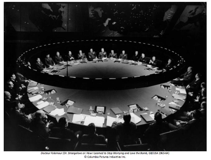 Exposition Stanley Kubrick (Cinémathèque française) Dr-Folamour