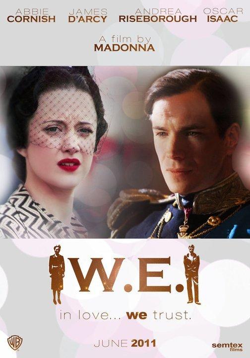 W.E. affiche