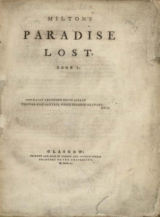 a summary of john miltons paradise lost Plot summary of paradise lost by john milton part of a free study guide by  bookragscom.