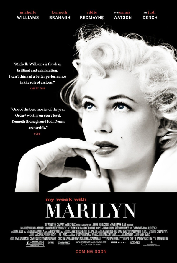 affiche officielle de my week with marilyn cinechronicle. Black Bedroom Furniture Sets. Home Design Ideas