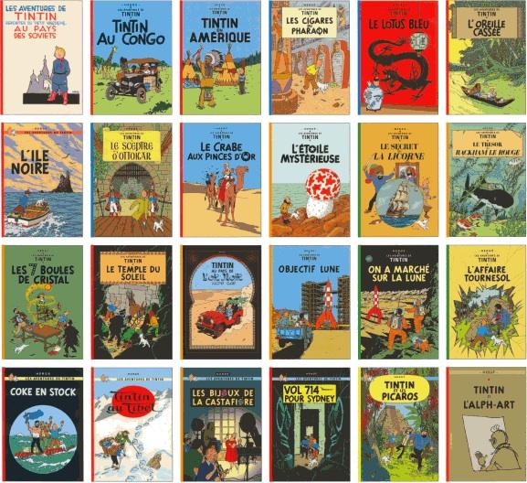 Gut bekannt Albums, illustrations et sculptures de Tintin aux enchères chez  SF92