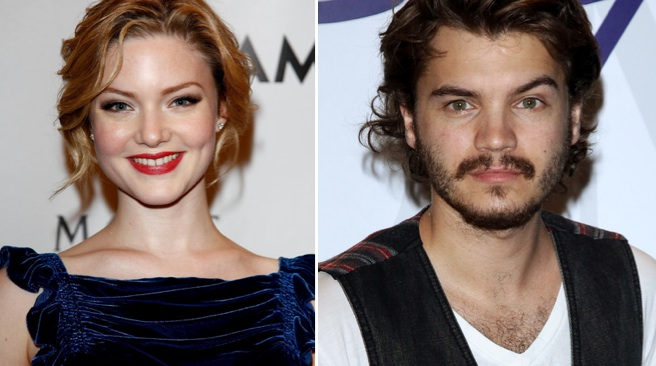 Holliday Grainger et Emile Hirsch seront Bonnie  amp  Clyde dans la    Holliday Grainger And Emile Hirsch