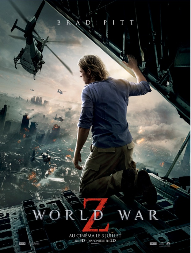 World War Z affiche teaser