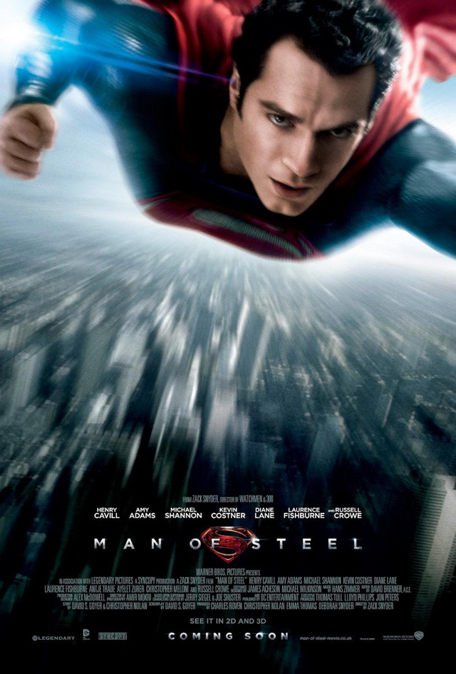 Man of Steel Superman affiche