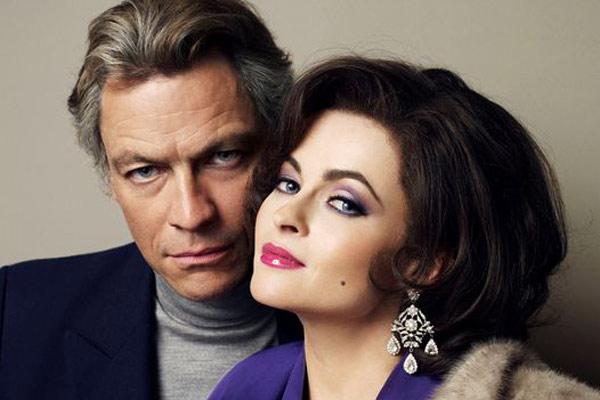 Helena Bonham Carter de Dominic West dans Burton and Taylor