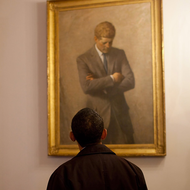 John-F-Kennedy-by-Aaron-Shikler