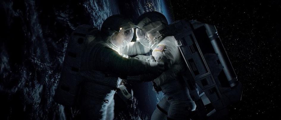 Gravity - Sandra Bullock et George Clooney