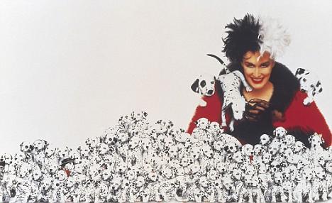 Cruella De Vil - Glenn Close - 101 Dalmatiens