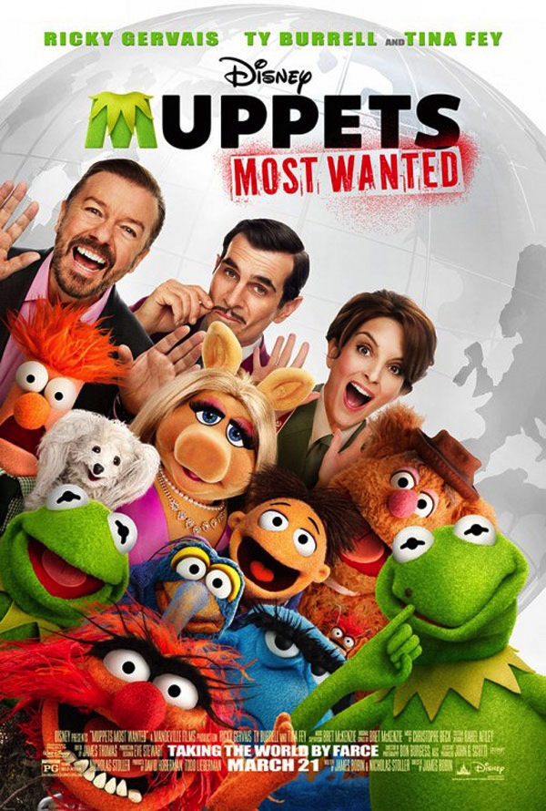 Muppets Most Wanted affiche