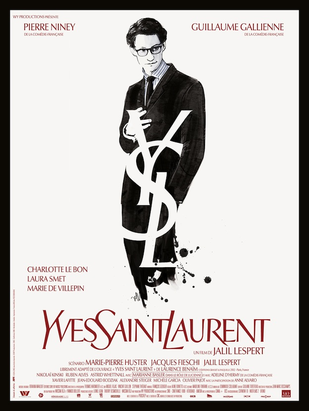 Yves-Saint-Laurent-affiche Christoph Waltz