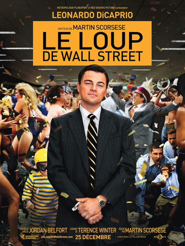 Le Loup de Wall Street affiche