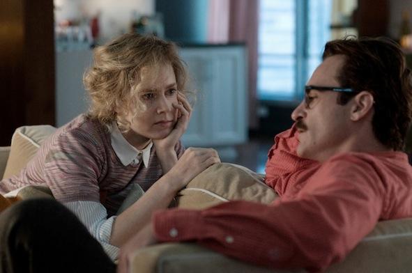 Joaquin Phoenix et Amy Adams - Her de Spike Jonze / © Warner Bros