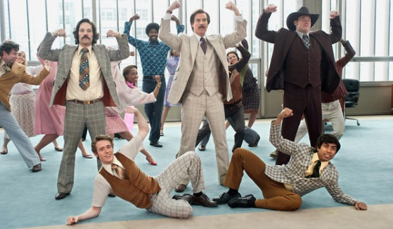 Anchorman 2 - Photo Gemma LaMana/Paramount Pictures