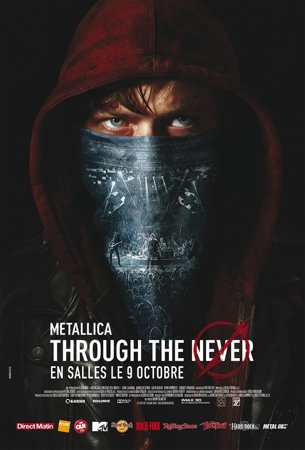 Metallica Through the Never affiche