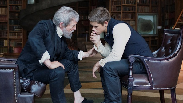 The Giver Jeff Bridges-Brenton Thwaites
