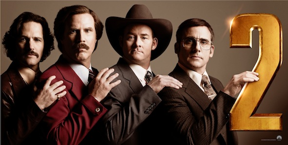Anchorman 2 banniere