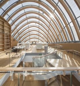 Bibliothèque - Photographie de Michel Denancé – Coll. Fondation Jérôme Seydoux-Pathé © 2014 – RPBW