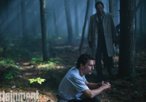 Matthew McConaughey et Ken Watanabe dans La Foret des Songes (The Sea of Trees) de Gus Van Sant