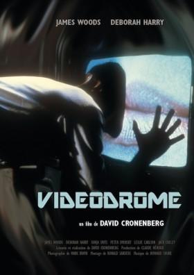 Vidéodrome de David Cronenberg - affiche