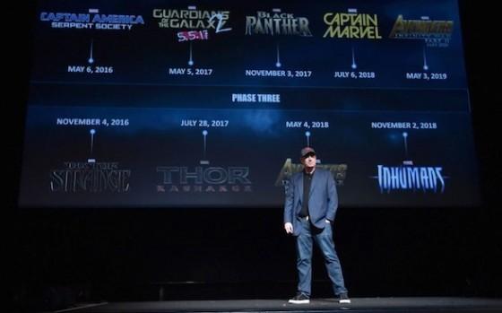 Marvel phase 3 - Kevin Feige