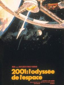 2001 lodyssee de lespace -affiche