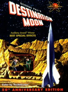 Destination Lune (Destination Moon) affiche