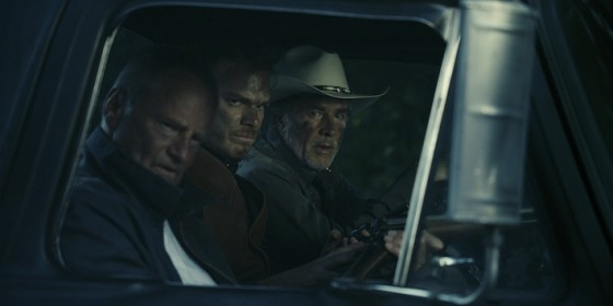 Sam Shepard, Michael C Hall, Don Johnson dans Cold in July