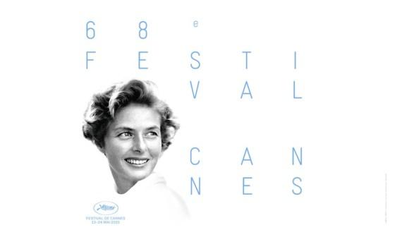 Ingrid Bergman - Affiche du Festival de Cannes 2015
