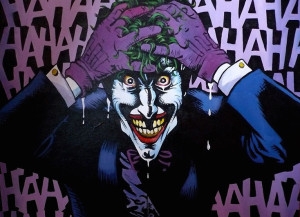 Photo Ha Ha Ha de Batman killing Joke de Alan Moore