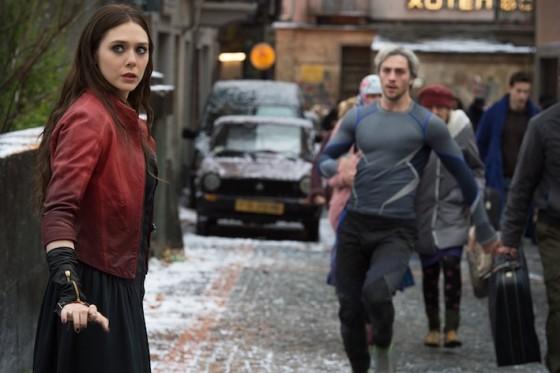 Wanda et Pietro Maximoff - La Sorciere Rouge et Quicksilver (Elisabeth Olsen et Wanda et Pietro Maximoff) dans Avengers - L'Ere d'Ultron
