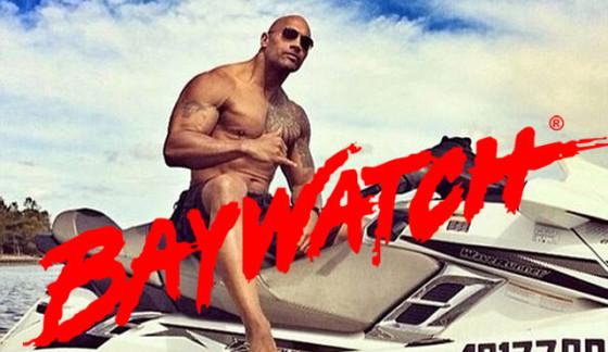 Dwayne Johnson - Alerte a Malibu