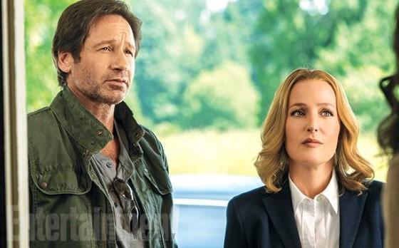 David Duchovny et Gillian Anderson dans la nouvelle saison de X-Files