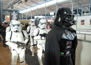Dark Vador et sa suite - Paris Comic Con 2015