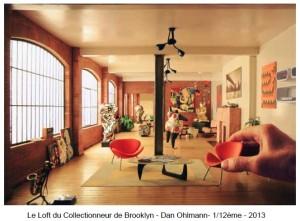 Le Loft du Collectionneur de Brooklyn de Dan Olhmann