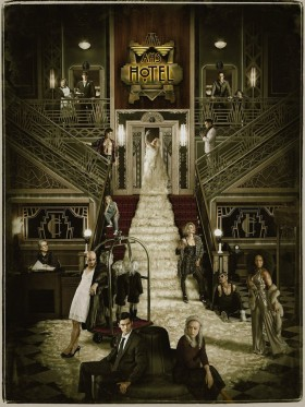 American Horror Story Hotel - afiche