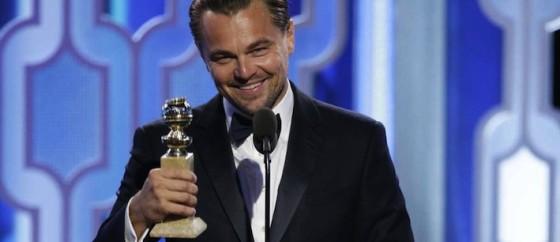 Golden Globes 2016 - Leonardo DiCaprio, meilleur acteur pour The Revenant d'Alejandro Gonzales Inarritu