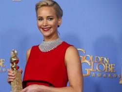 Jennifer Lawrence - Golden Globes 2016