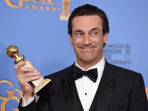 Jon Hamm pour Mad Men - Golden Globe 2016