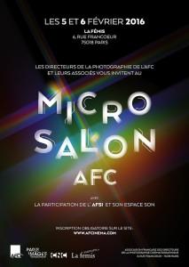 Micro Salon AFC - affiche