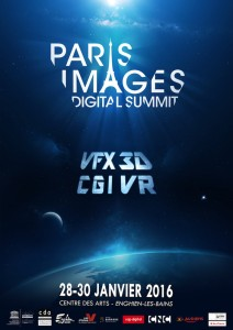 Paris Images Digital Summit 2016 - affiche