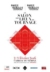 Paris Images Location Expo - Salon Lieux de Tournage - affiche
