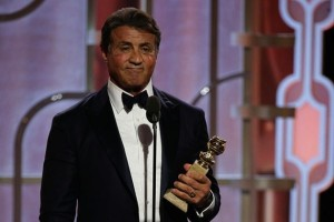 Sylvester Stallone - Golden Globe 2016 pour Creed
