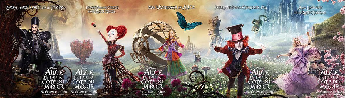 Nouveau trailer et affiche panoramique d 39 alice de l 39 autre for L autre cote du miroir