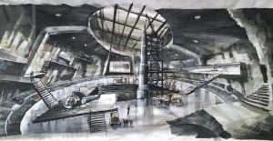 Décor de Ken Adam - On ne vit que deux fois de Lewis Gilbert (1967) - James Bond L'Exposition
