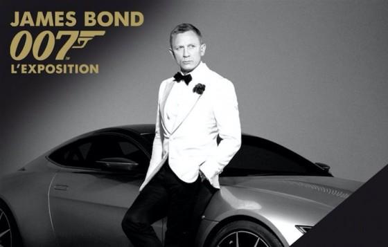 James Bond - L'Exposition