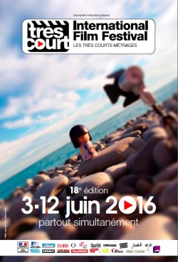 18e Tres Court International Film Festival - affiche