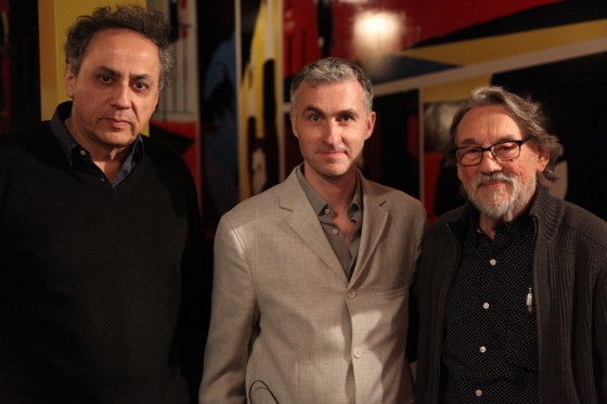 Darius Khondji, Pierre Filmon et Vilmos Zsigmond - photo Marie Spencer