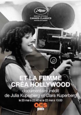 Et la femme créa Hollywood de Julia et Clara Kuperberg - affiche