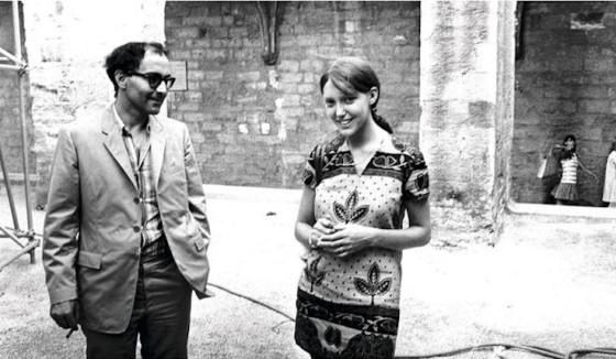 Jean-Luc Godard et Anne Wiazemsky